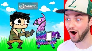 Reacting to the GREATEST FORTNITE ANIMATIONS!