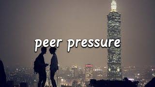 James Bay   Peer Pressure (Lyrics) Ft. Julia Michaels