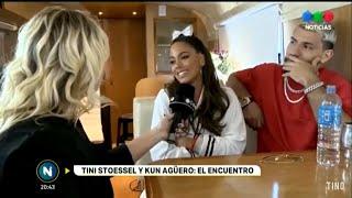 Tini Stoessel Y Kun Agüero Hablan De 22 Para Telefe