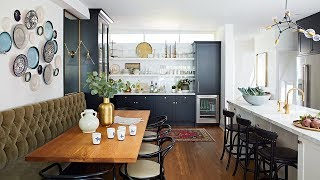 Interior Design — An Open-Space Kitchen With Eclectic Style