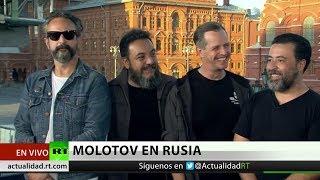 La banda Molotov se suma a la hinchada mexicana en el Mundial de Rusia 2018