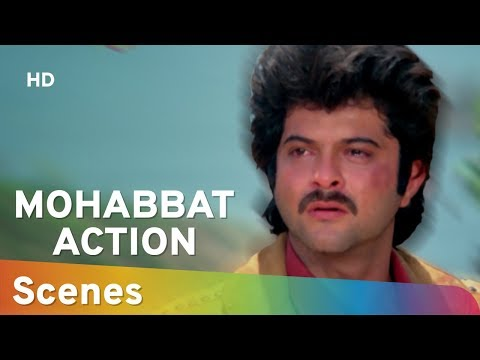 Action Scenes From Mohabbat (1985) (HD) Anil Kapoor | Vijayta Pandit | Amjad Khan - 80's Hit Movie