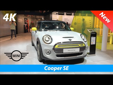 MINI Cooper SE 2020 (EV) - FIRST look in 4K | Interior - Exterior