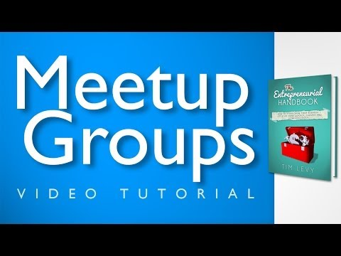 Meetup Groups - A Meetup Tutorial On How To Find Like Minded People