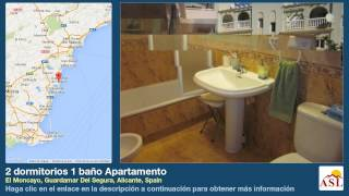 preview picture of video '2 dormitorios 1 baño Apartamento se Vende en El Moncayo, Guardamar Del Segura, Alicante, Spain'