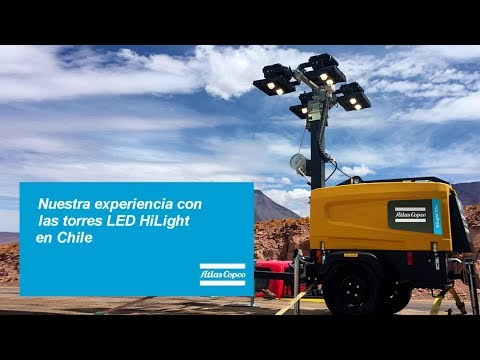 A customer experience with LED portable light tower for industry and outdoor events Atlas Copco - zdjęcie