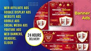 5790I will web banner, web affiliate banner, google AdWords, advertising banner