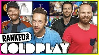 Every Coldplay Album Ranked WORST to BEST