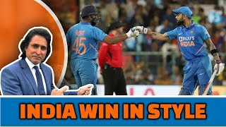 India win in style | Shami, Rohit & Kohli out class Aussies