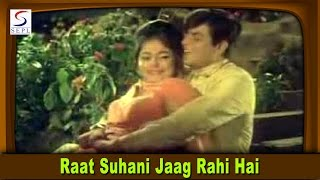 Raat Suhani Jaag Rahi Hai - Romantic Song - Suman, Mohammed Rafi @ Jigri Dost - Jeetendra, Mumtaz
