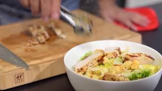 VIDEO - Ensalada César con pollo a la mostaza