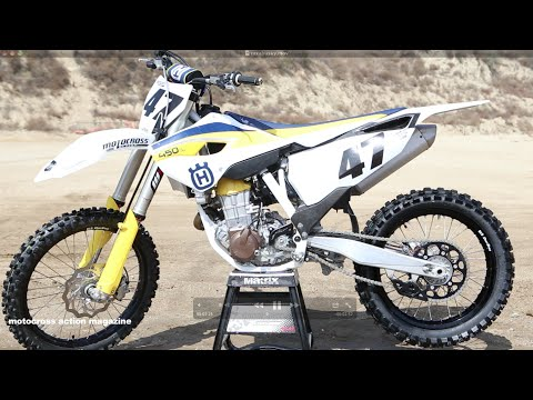 First Ride 2015 Husqvarna FC450