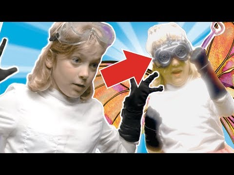 Doctor Chaos is the Tooth Fairy?! ✨NEW Superzuzaa ⚡Superheroes in Real Life