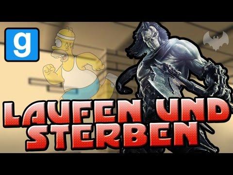 LAUFEN & STERBEN - ♠ GARRY'S MOD: DEATHRUN #001 ♠ - Let's Play GM: Death Run - Dhalucard