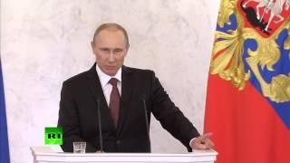 Путин: Крым никогда не будет бандеровским