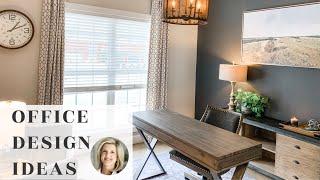 Office Interior Design Ideas | Jennifer Decorates