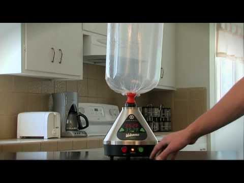 VOLCANO Digit Vaporizer Review and demo- Digit Vaporizer Review Volcano Demonstration