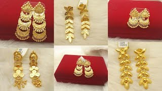 Latest Gold Dangling Earrings Designs Best Collection