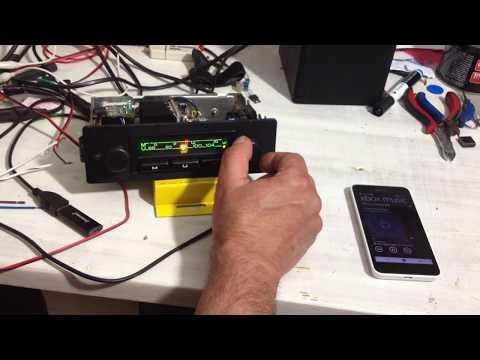 Oldtimer Autoradio Umbau UKW, Bluetooth, USB Eingang, Freisprech, Aux in, Stereo 4x45W