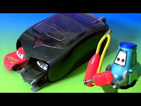Disney Pixar Cars 3 Pit Crew Launcher Set Jackson Storm & McQueen CARS 3 Toys for Kids by TOYS CLUB
