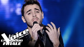 Louane (Si t'étais là)  Abdel | The Voice France 2018 | Auditions Finales