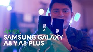 Samsung Galaxy A8 y A8+ en México: primeras impresiones