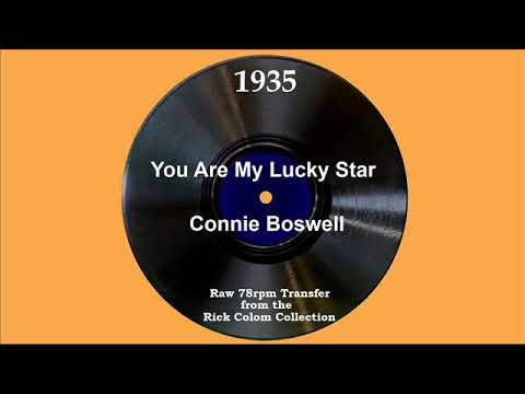 You Are My Lucky Star cover