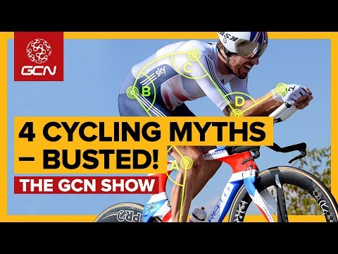 4 Of Cycling's Most Enduring Myths - Exposed! | The GCN Show Ep. 303