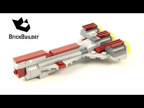 Vidéo LEGO Star Wars 30242 : Republic Frigate (Polybag)