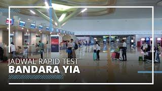 Bandara YIA Sediakan Fasilitas Rapid Test Kilat, 30 Menit Langsung Keluar Hasil, Berikut Jadwalnya