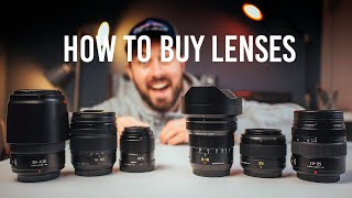 The ULTIMATE camera LENS buyers guide... sort of.