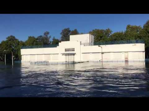 Inundación en la ciudad de Salto - provincia de Buenos Aires