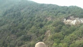 preview picture of video 'Nepal XC flight. サランコットからグリーンウォールへ'