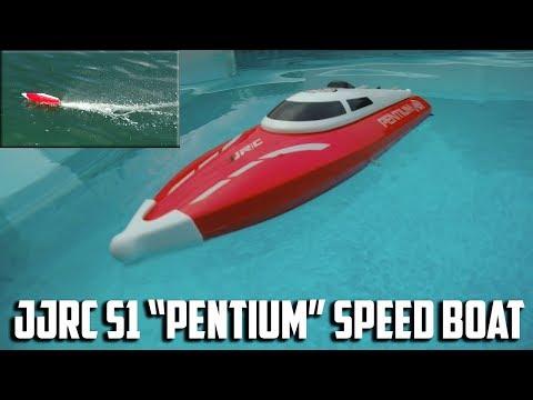 """JJRC S1 """"Pentium"""" R/C Speed Boat Review"""