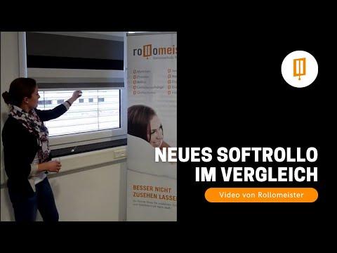 Neues Softrollo und Vergleich mit Springrollo und Federzugrollo - Video von Rollomeister
