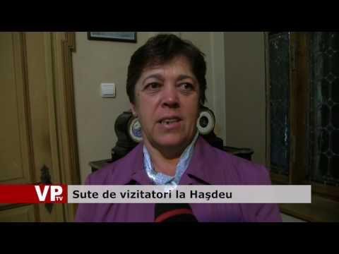 Sute de vizitatori la Haşdeu