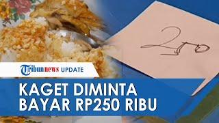 Rombongan Pemudik Rogoh Kocek 'Selangit' saat Santap Makanan, Bayar Rp250 Ribu Dapat Ayam dan Teh