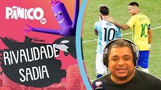 Vampeta sobre Copa América: 'Duvido que Neymar não queira jogar sabendo que Messi estará em campo'