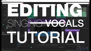 How to Edit and Mix Singing Vocals in Adobe Audition (Part 1)