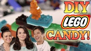 How to make LEGO CANDY with Nerdy Nummies! Feast of Fiction S3 E8 - Video Youtube