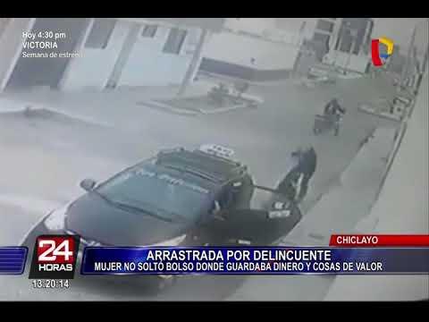 Huaraz: cámaras de seguridad captan asalto en botica