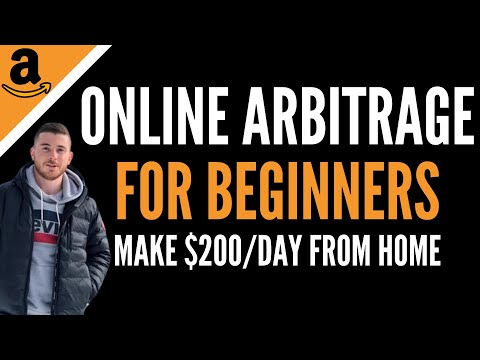 How To Make $200/Day From Home With Amazon Online Arbitrage | Step-By-Step Beginners Tutorial (2020)