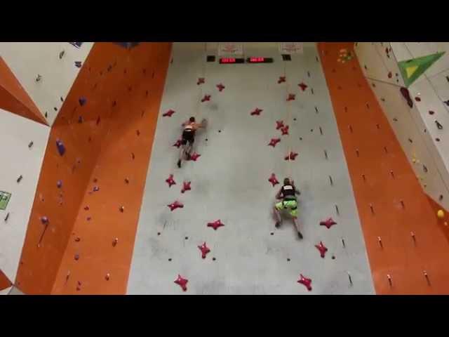 متسلق يحطم الرقم القياسي لسرعة التسلق بـ 5.57 ثانية