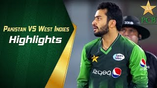 Pakistan VS West Indies Highlights | PCB