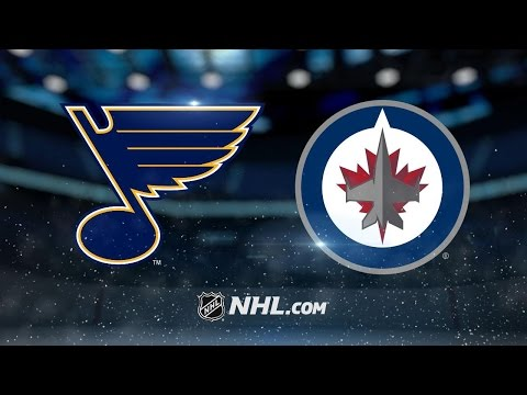 Little's two power-play goals propel Jets past Blues