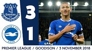 RICHARLISON AT THE DOUBLE! | EVERTON 3-1 BRIGHTON