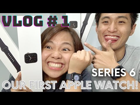 Unboxing our apple watch series 6 + CRUFF HQ Update | Aly & Stan