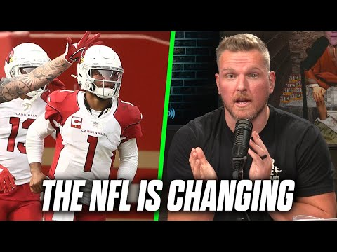 "Pat McAfee ""There Is A Change Happening In The NFL"""