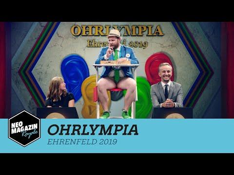 Ohrlympia Ehrenfeld 2019 mit Gina Lückenkemper | Neo Magazin Royale mit Jan Böhmermann