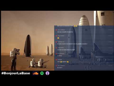 20 ans & 1000 fusées pour coloniser Mars selon Elon Musk #Podcast #BonjourLaBase #SpaceX
